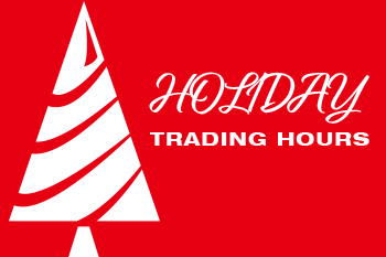 Holiday Trading Hours Image