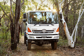 Hino 500 Series 4x4 - Video Review Image
